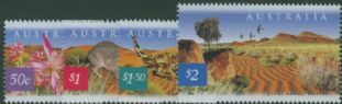 AUS SG2200-3 Fauna and Flora (5th series): Great Sandy Desert set of 4